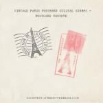 PARIS POSTMARK DOWNLOAD @ YELLOW BRICK HOME