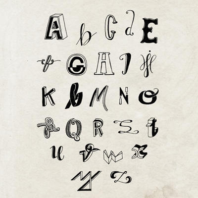 T.Assai Alphabet Print