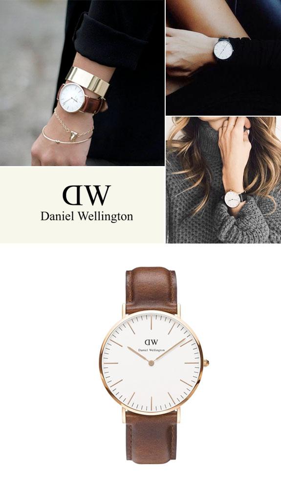 Daniel Wellington Watch Giveaway via Besotted Blog