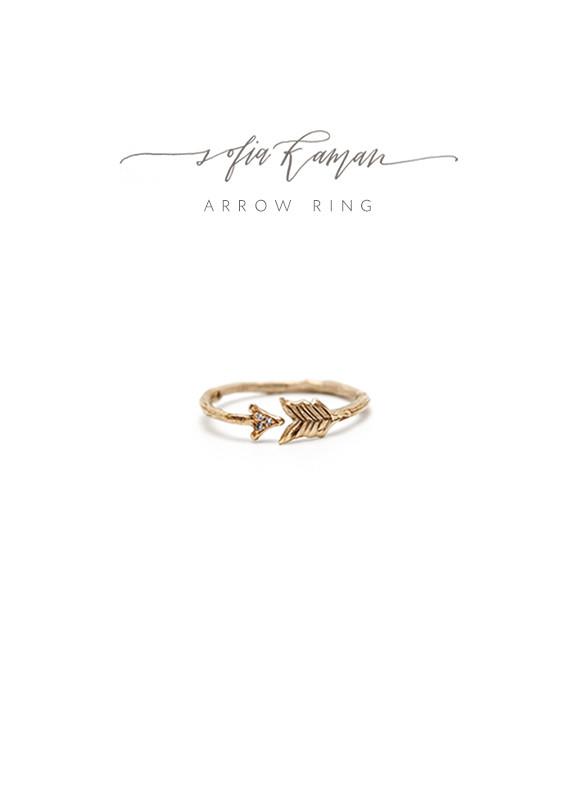 Winner Wonderland | Day 7 Sofia Kaman Arrow Ring