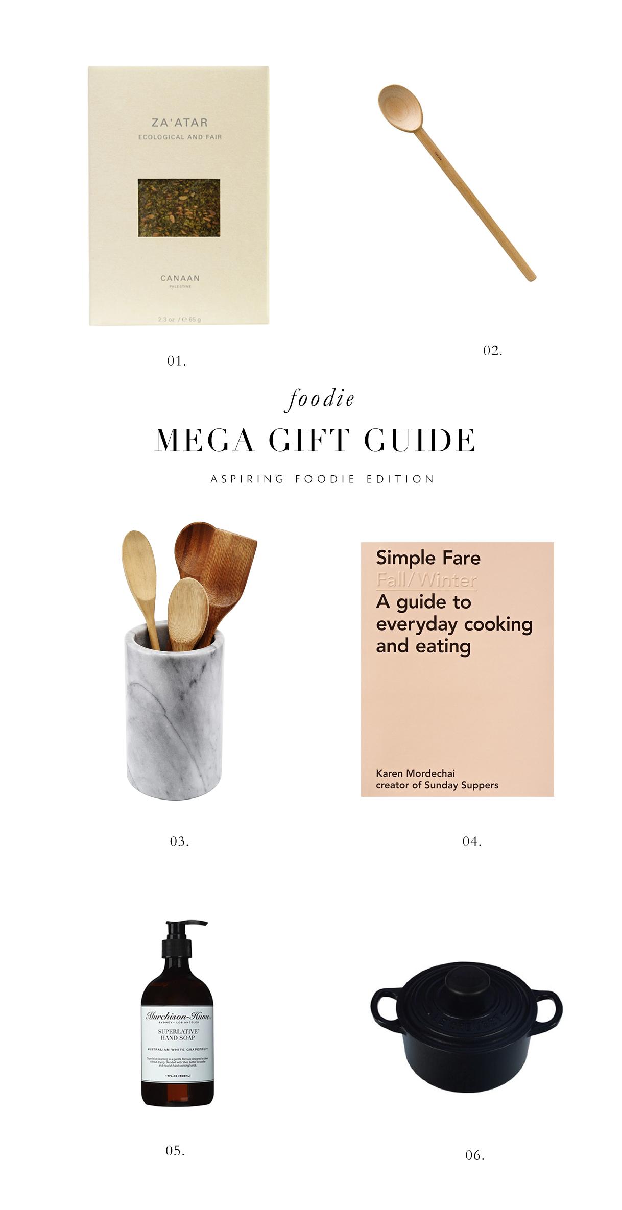 aspiring foodie gift guide via besottedblog